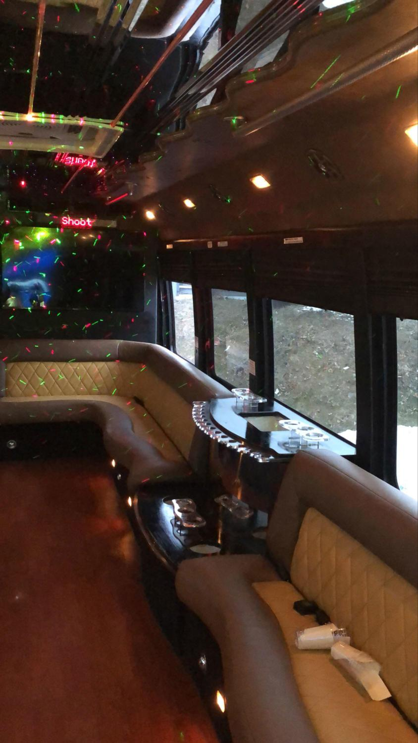24 Luxury Party Bus - Exotic Limo Bus