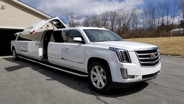CADILLAC ESCALADE Jet Door 20 Pass white 1